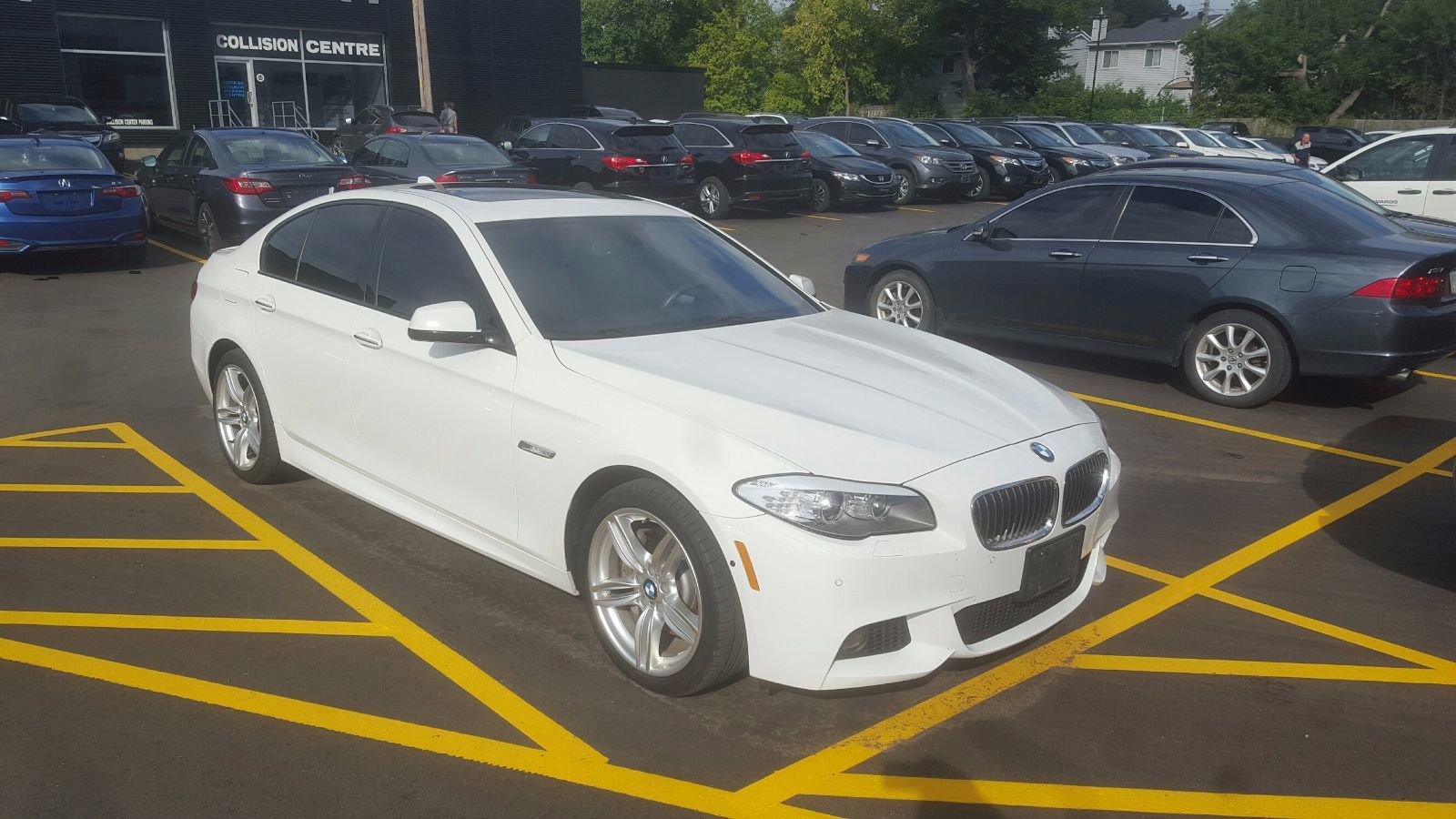 Pre Owned 2013 Bmw 535i Xdrive Heads Up Display M Sport