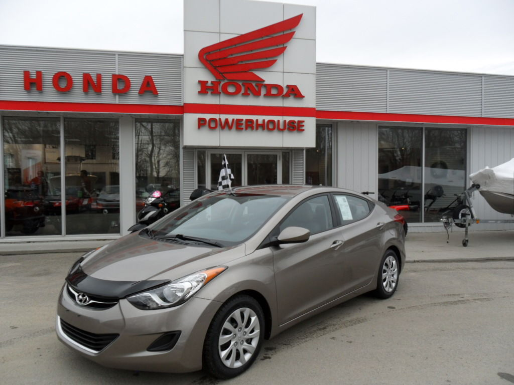 Pre owned 2013 hyundai elantra gl in brockville used for Honda used inventory