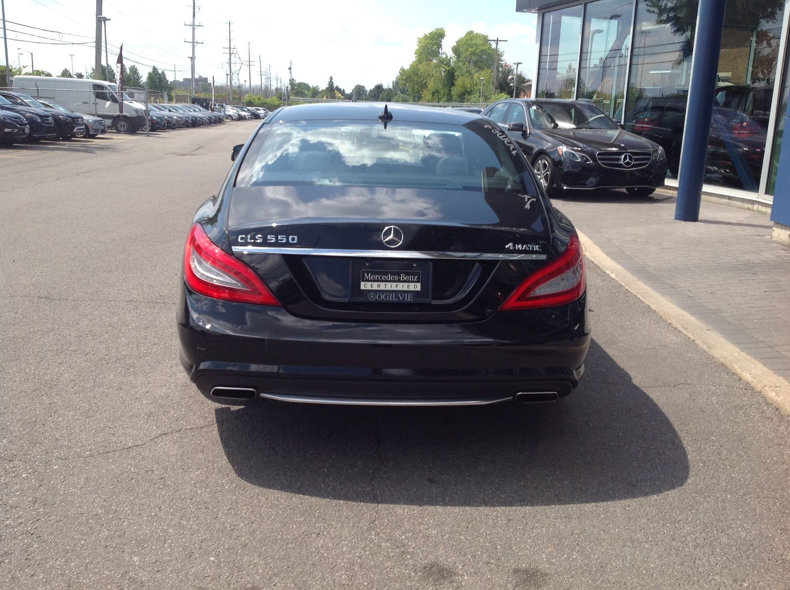 pre owned 2014 mercedes benz cls550 awd leather nav in ottawa used inventory ogilvie. Black Bedroom Furniture Sets. Home Design Ideas
