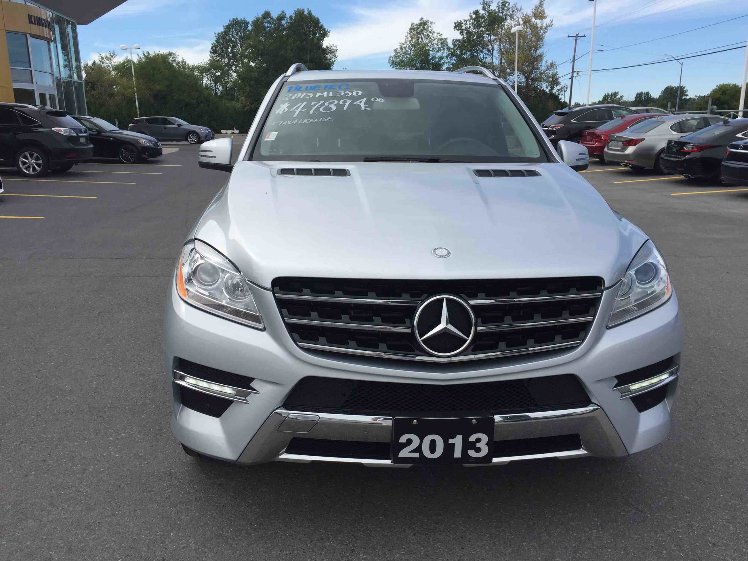 More details for Mercedes benz ml350 4matic 2013