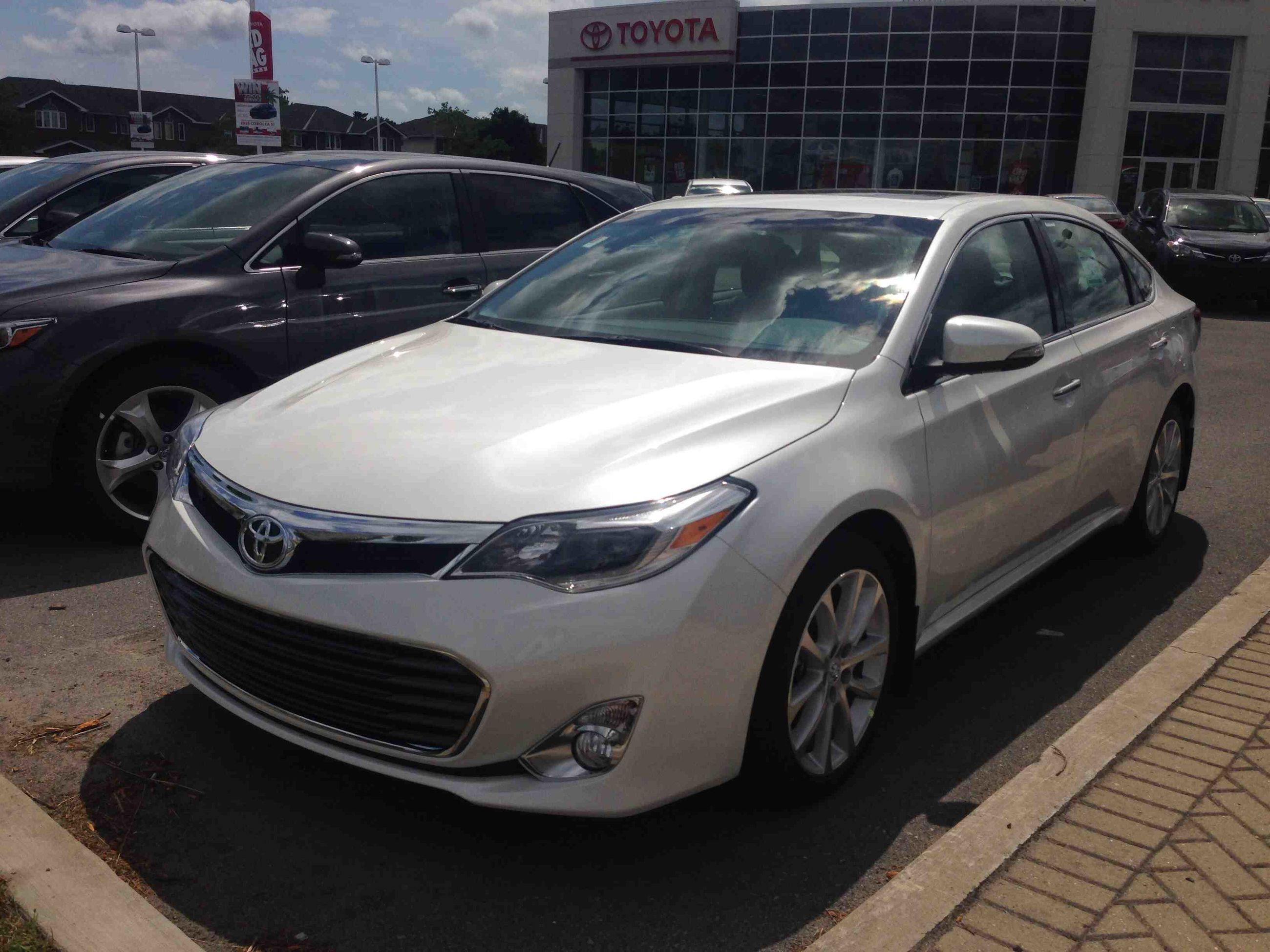 new 2015 toyota avalon limited for sale in kingston kingston toyota in kingston. Black Bedroom Furniture Sets. Home Design Ideas