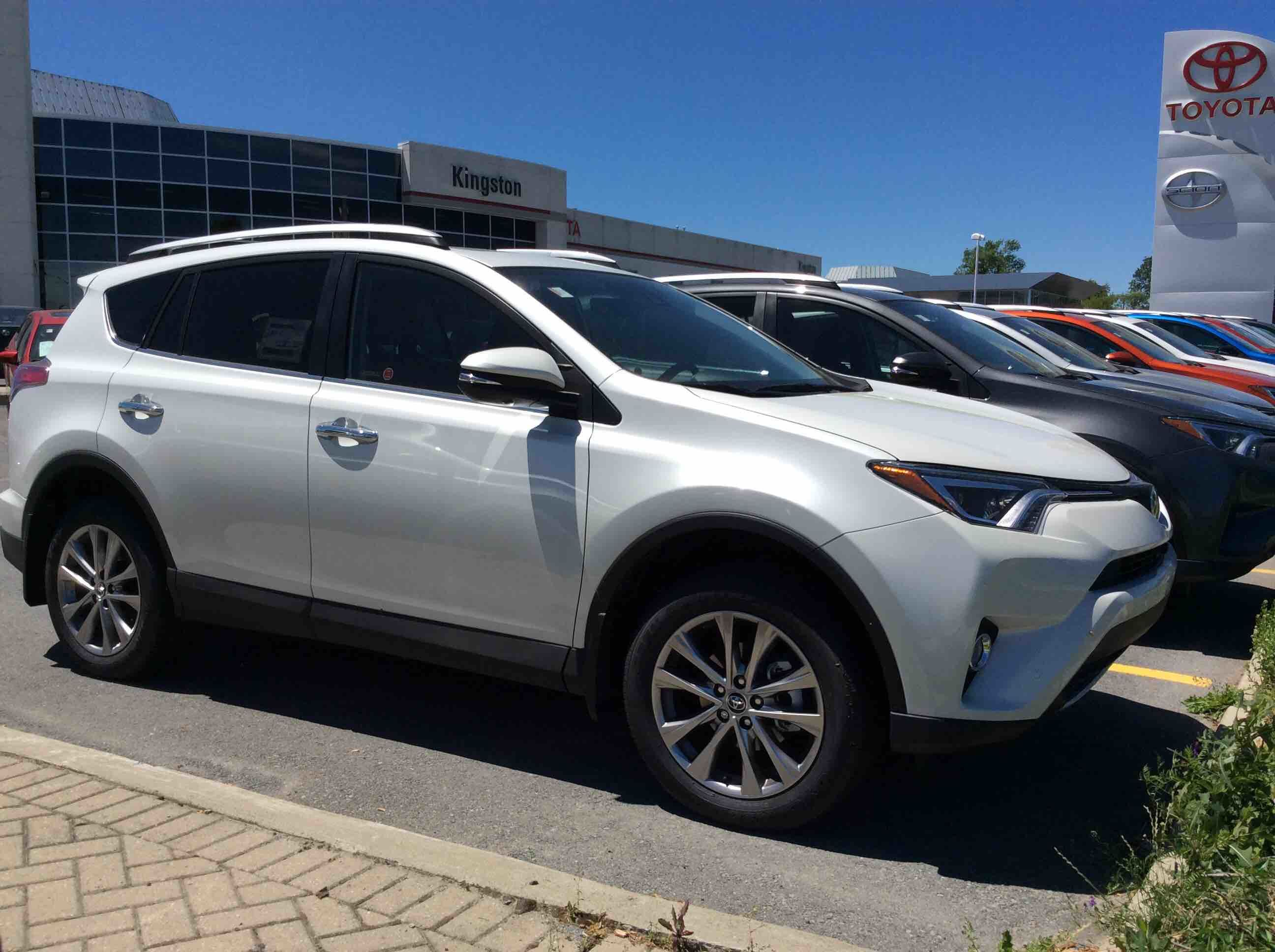 new 2016 toyota rav4 awd limited for sale in kingston kingston toyota in kingston. Black Bedroom Furniture Sets. Home Design Ideas