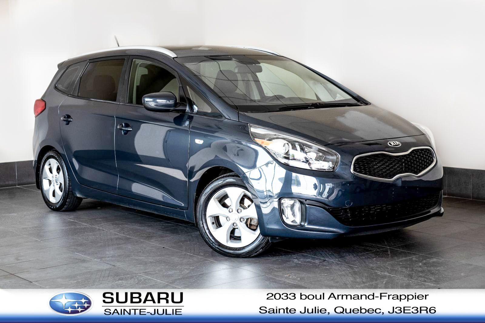 Kia Ste Julie >> Used 2014 Kia Rondo Ex At Subaru Sainte Julie 10 995