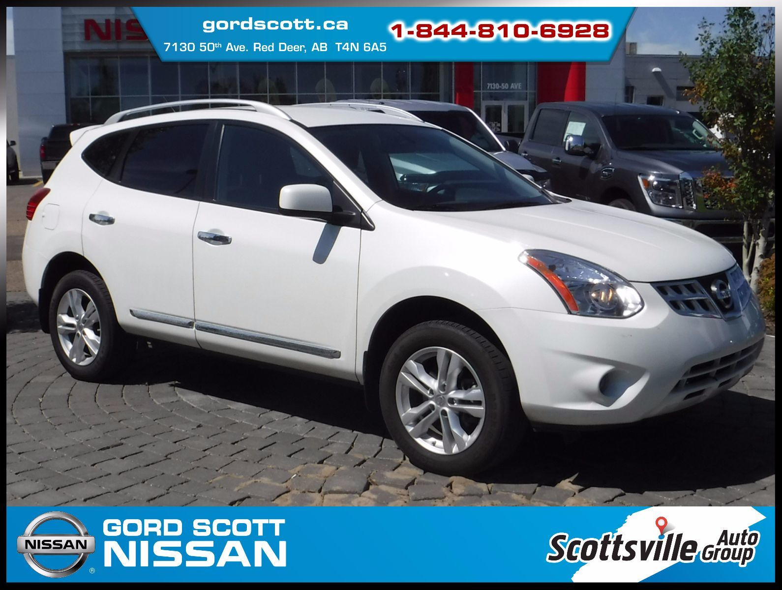 pre owned 2013 nissan rogue sv awd cloth cruise a c low km in red deer pre owned inventory. Black Bedroom Furniture Sets. Home Design Ideas