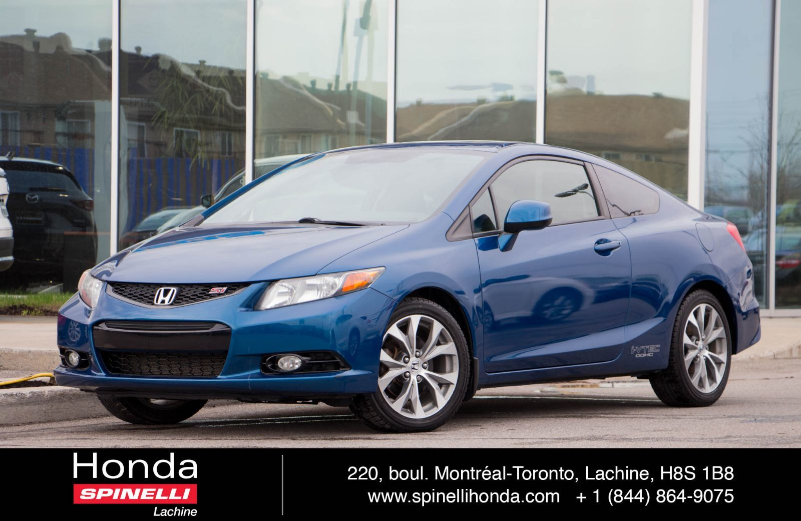 Used 2012 Honda Civic DEAL PENDING Si NAVI For Sale In Montreal | 96894A |  Spinelli Honda Lachine