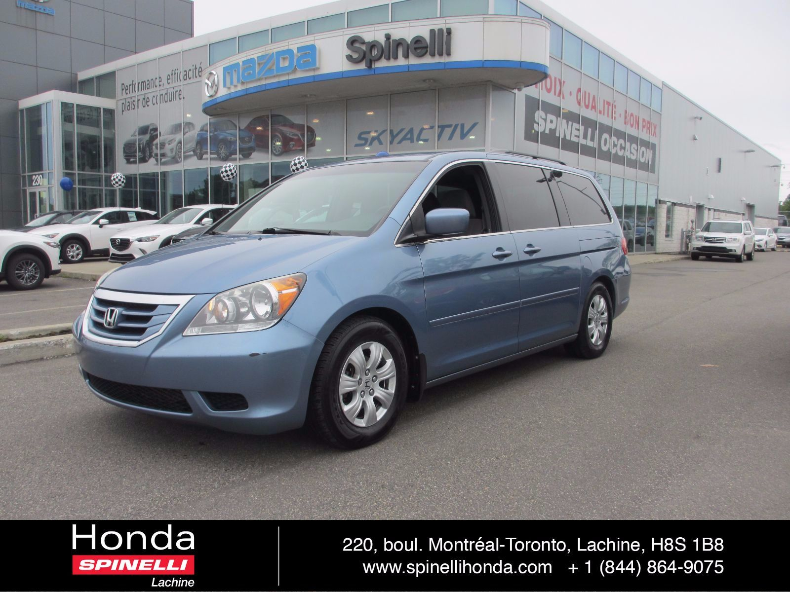 Used 2008 honda odyssey ex bas deal pending in montreal for Honda used inventory