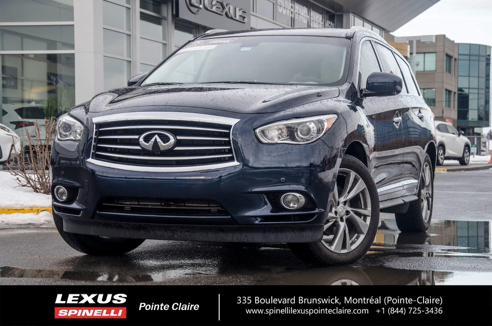 used 2015 infiniti qx60 deluxe touring awd certifie infiniti in montreal laval and south. Black Bedroom Furniture Sets. Home Design Ideas