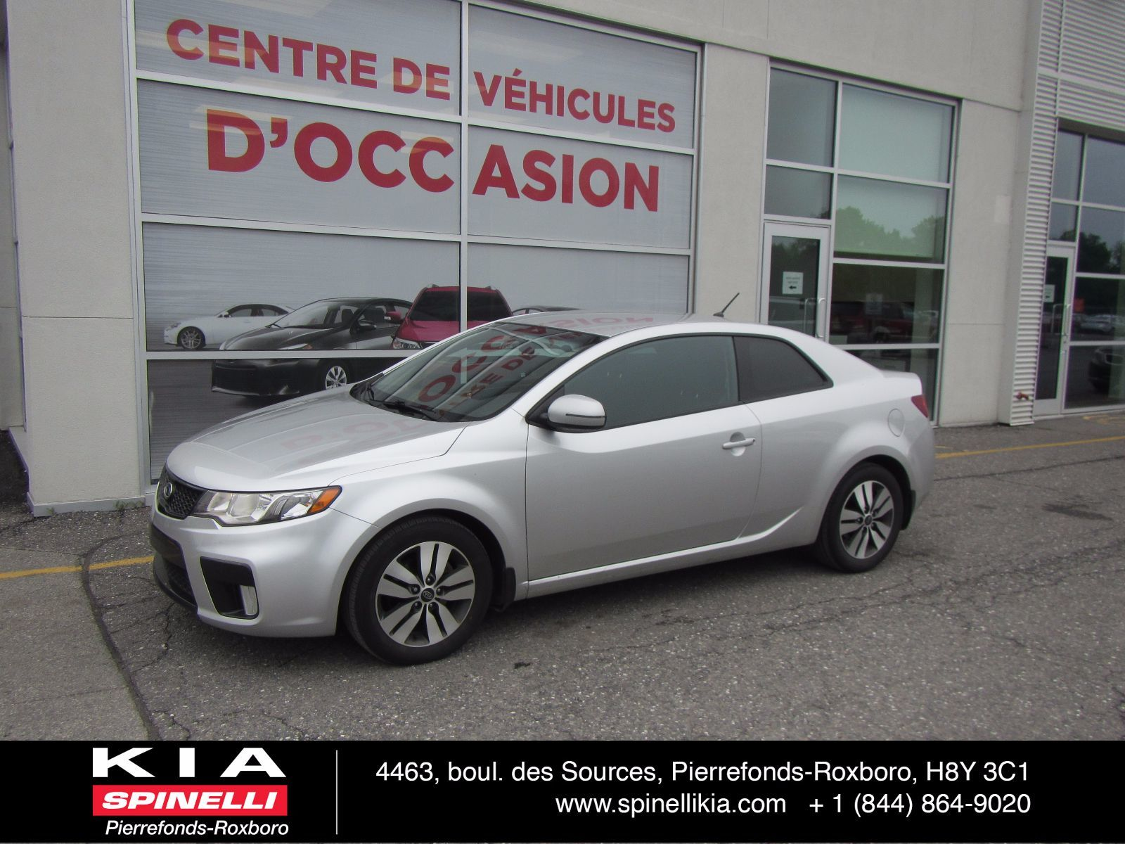 used 2013 kia forte koup ex in montreal laval and south shore p0397. Black Bedroom Furniture Sets. Home Design Ideas