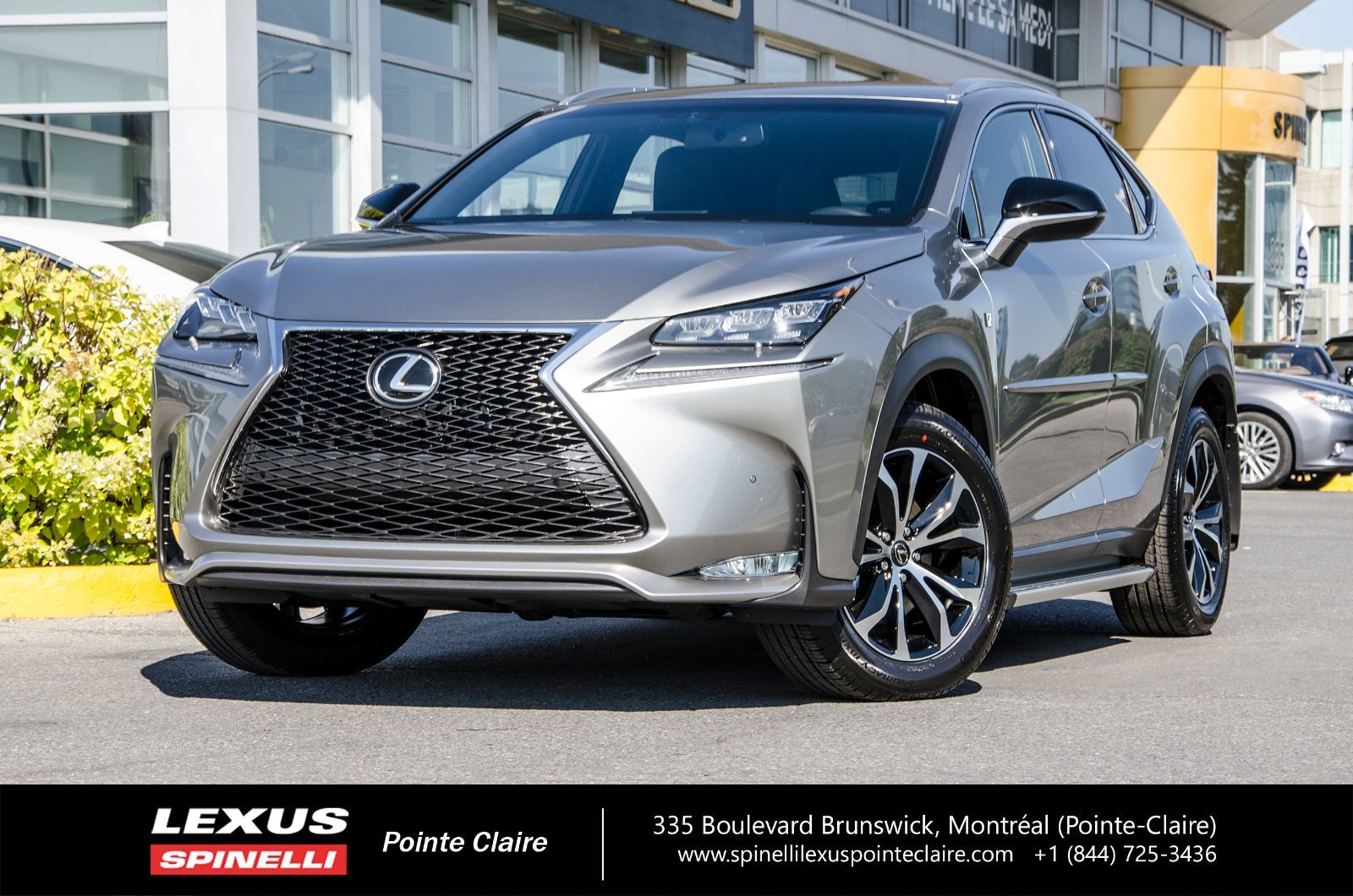 used 2017 lexus nx 200t f sport series 2 navigation awd in montreal laval and south shore. Black Bedroom Furniture Sets. Home Design Ideas