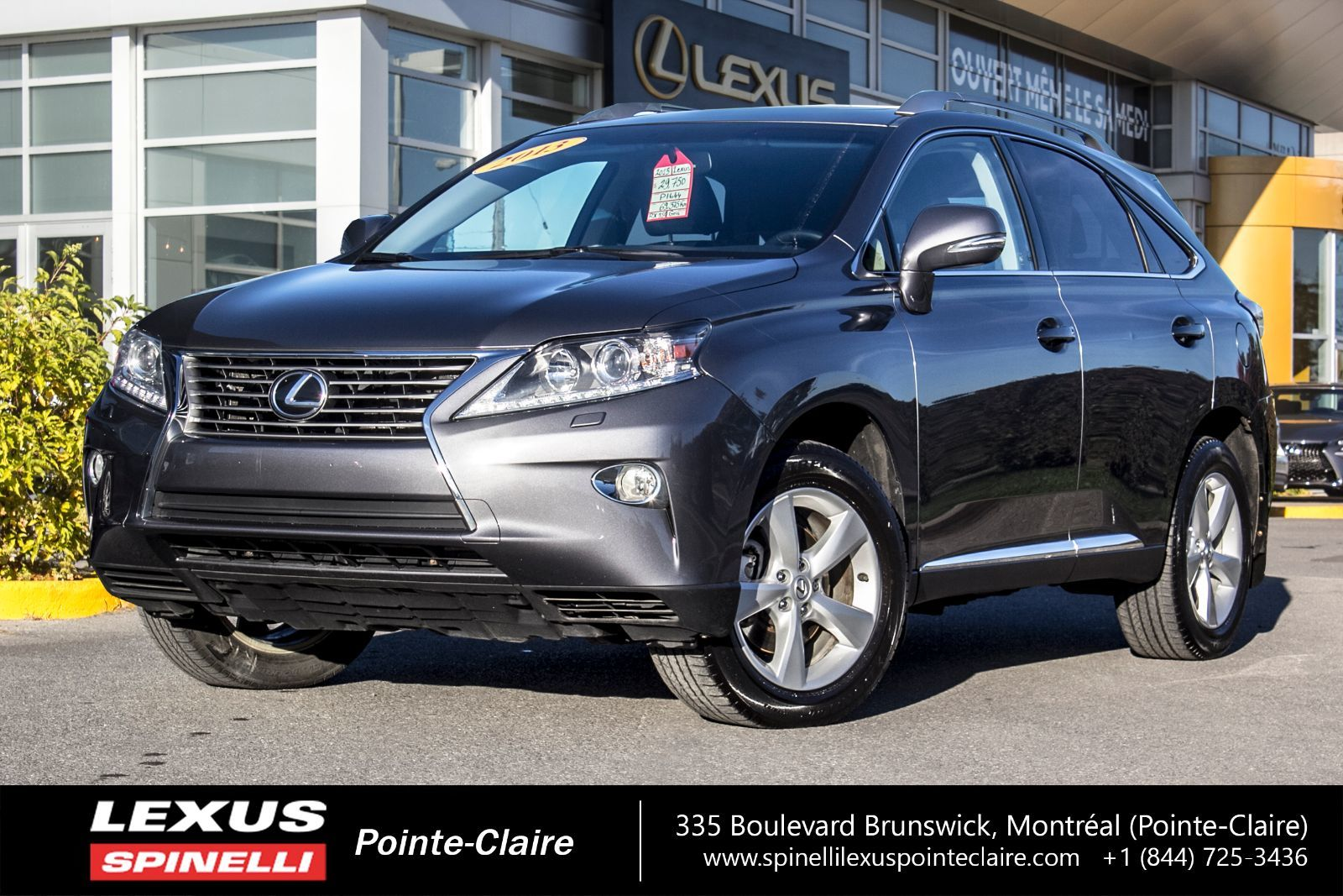 used 2013 lexus rx 350 awd premium 1 cuir toit ouvrant for sale in montreal p1644 spinelli. Black Bedroom Furniture Sets. Home Design Ideas