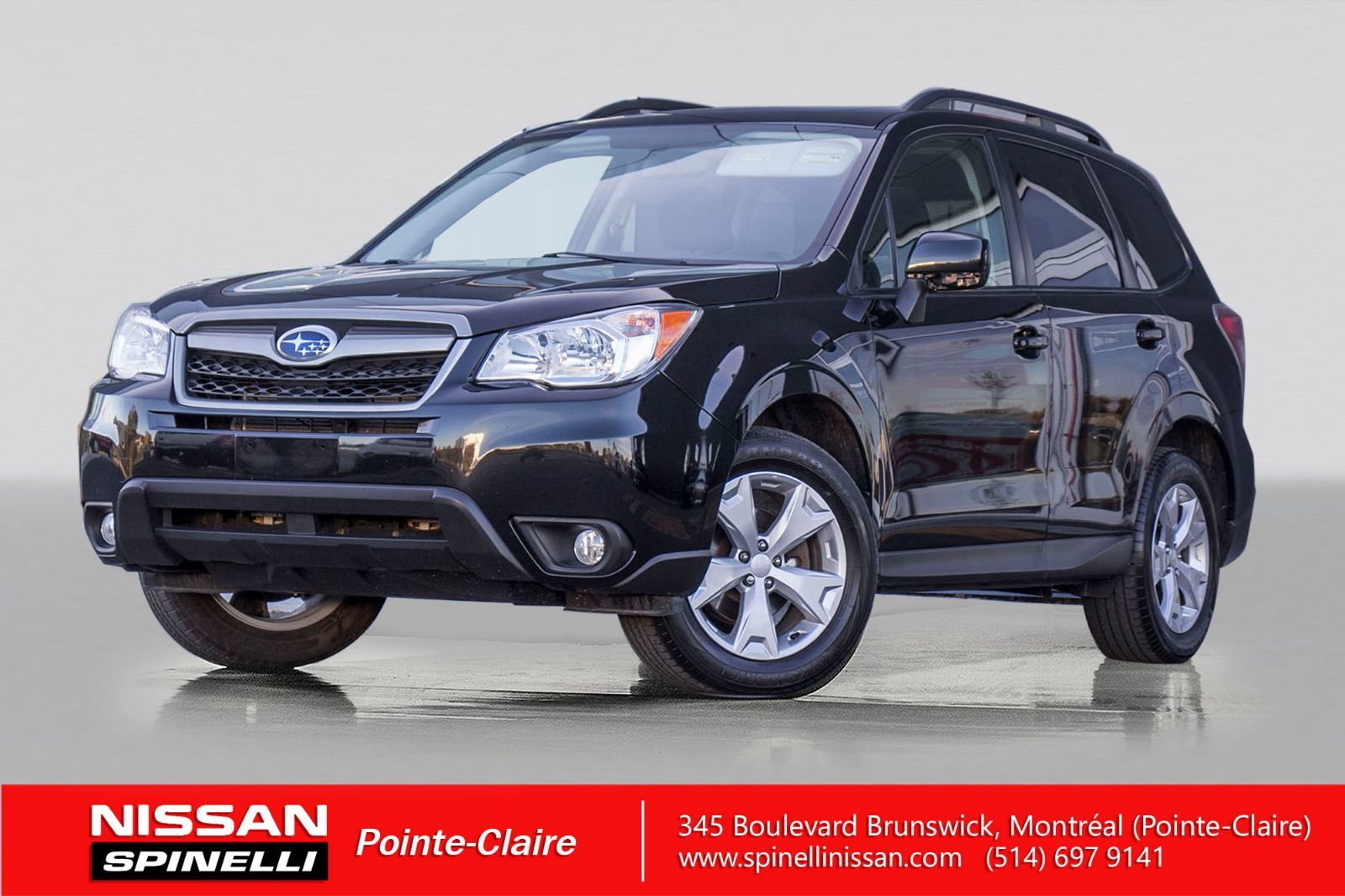 used 2015 subaru forester touring in montreal laval and south shore p7594. Black Bedroom Furniture Sets. Home Design Ideas