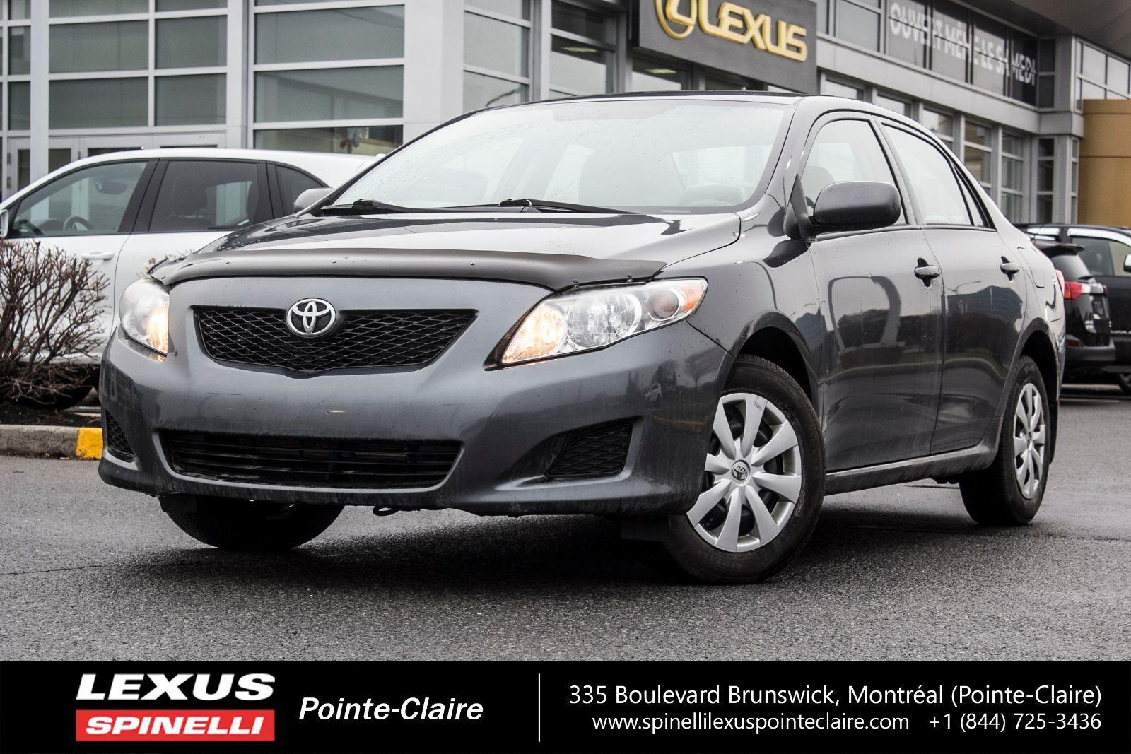 Toyota Pointe Claire >> 2010 Toyota Corolla CE , AC, AUTOMATIQUE,DÉMARREUR, GROUPE ELECTRIC, d'occasion à vendre ...