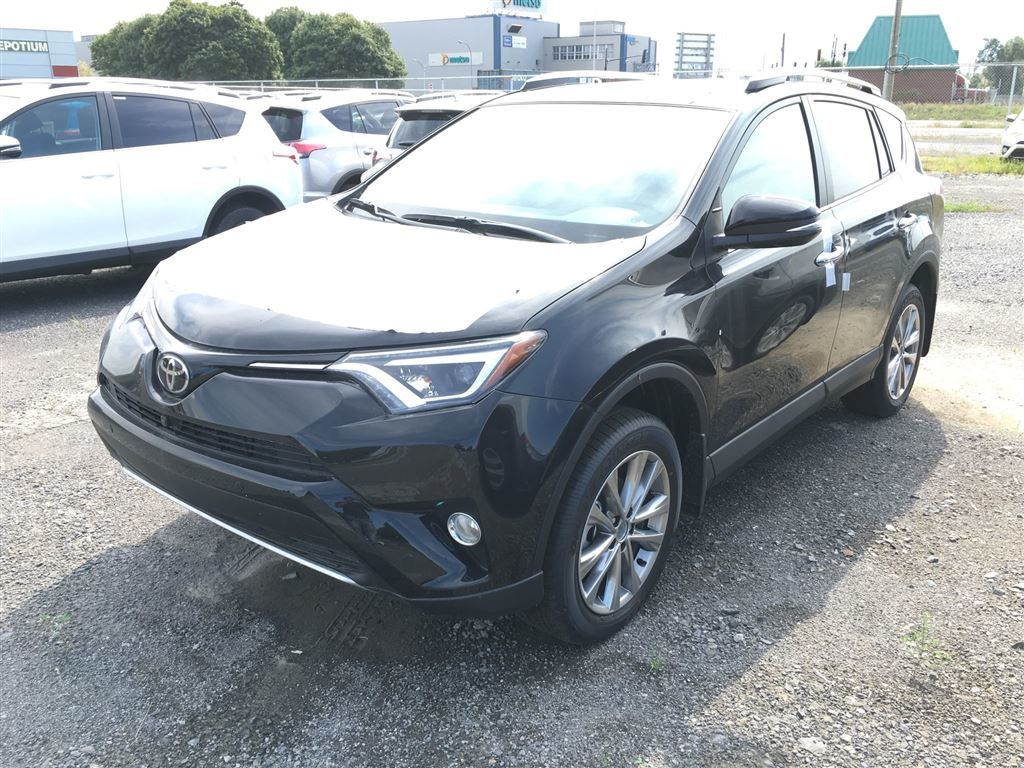 2016 toyota rav4 limited neuf en inventaire vendre lachine spinelli toyota lachine. Black Bedroom Furniture Sets. Home Design Ideas