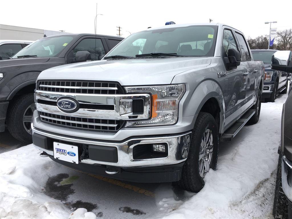 New 2018 Ford F-150 XLT Ingot Silver (MET) for sale - $45606.75 | #18T5411 | Vickar Ford | Winnipeg