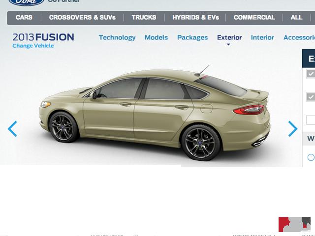 Ford Fusion Hybride Auto Design Tech
