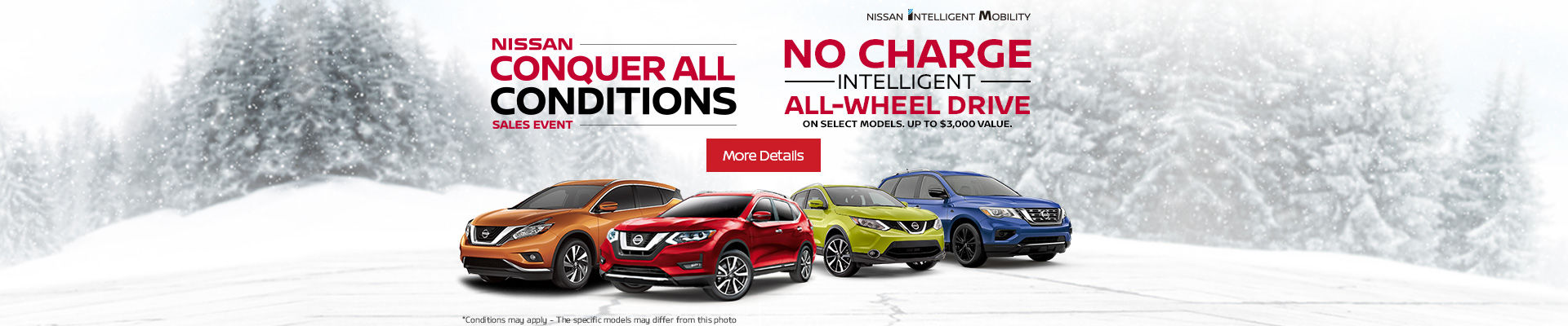 Nissan Conquer all Conditions - Web