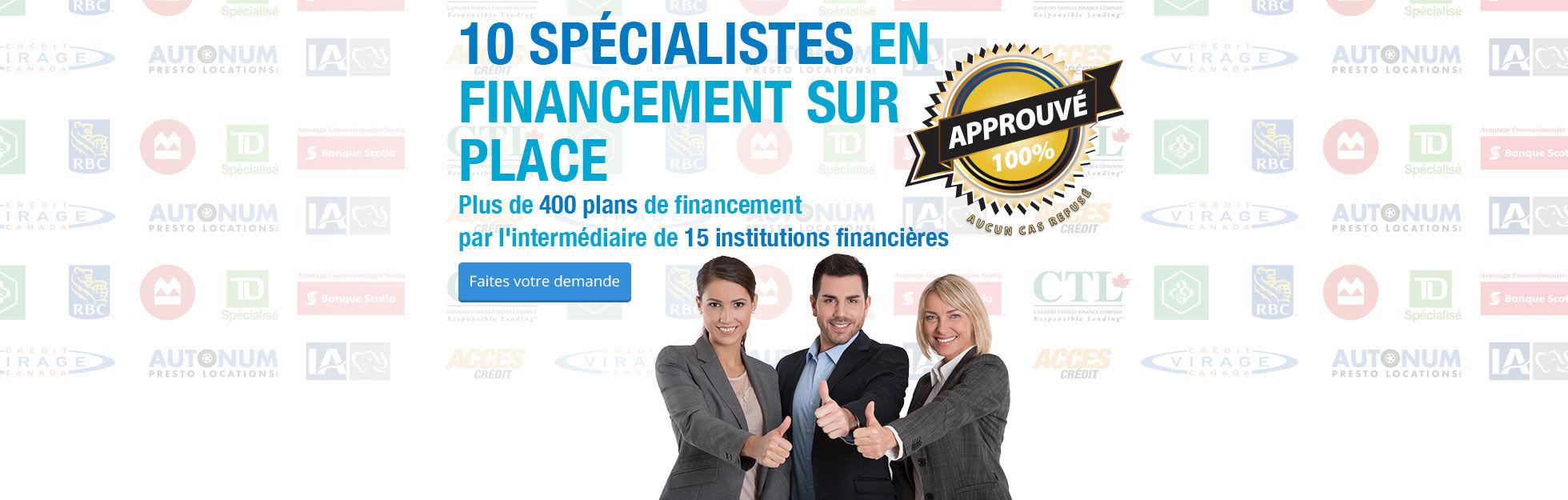 Financement sur place