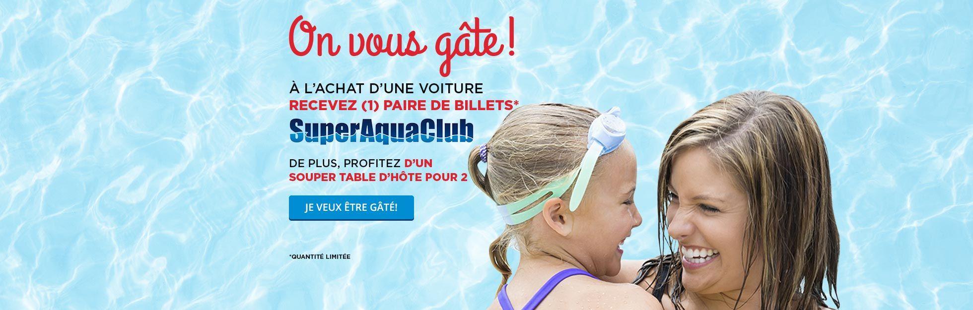 Billets Super Aqua Club