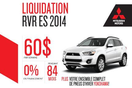 Nouveau Mitsubishi RVR 2014 à partir de seulement 60$ par semaine