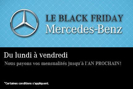 Black Friday chez Mercedes-Benz
