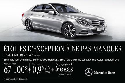 La Mercedes-Benz E250 DEMO: à vous avec rabais de 9749$