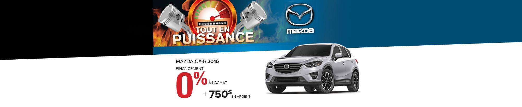 Mazda CX-5 0% 2016