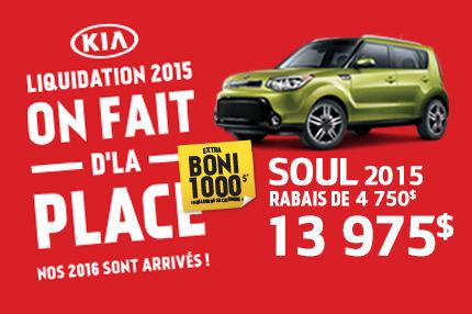 La Soul 2015 à seulement 13 975$