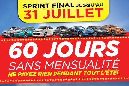 Sprint Final Nissan Jusqu'au 31 Juillet