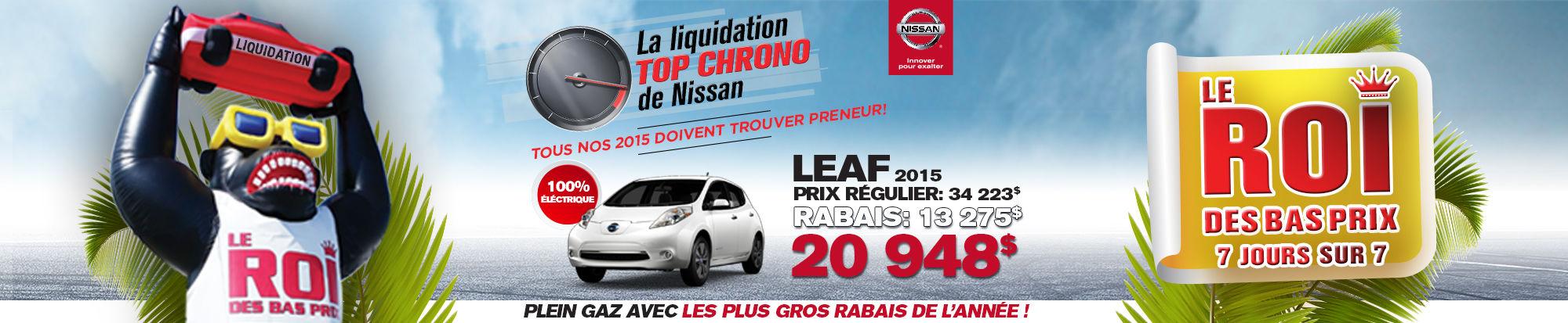 Liquidation top chrono leaf