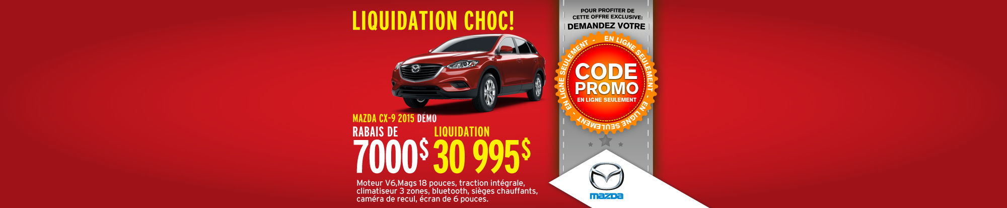 Véhicules de l'année Mazda CX-9