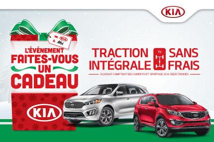 Faites-vous un cadeau avec une Kia