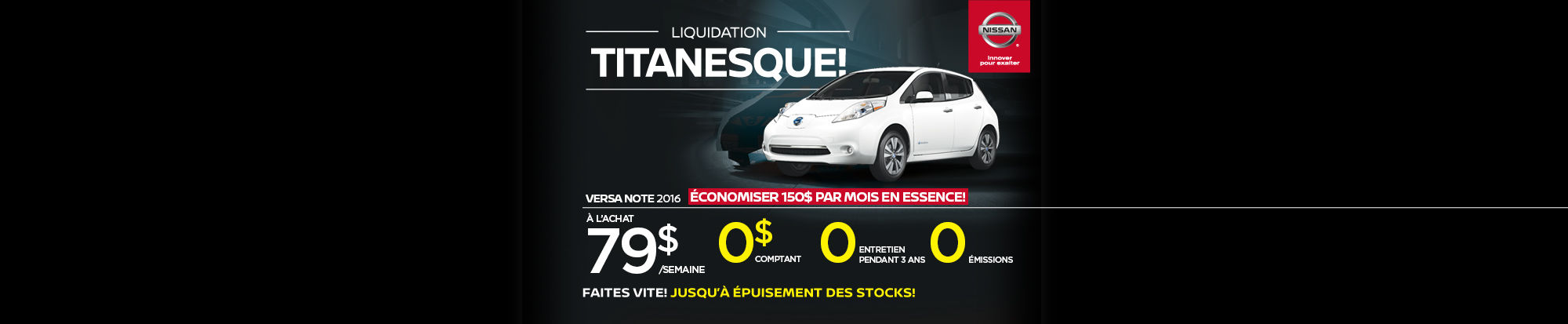 Liquidation titanesque - Leaf
