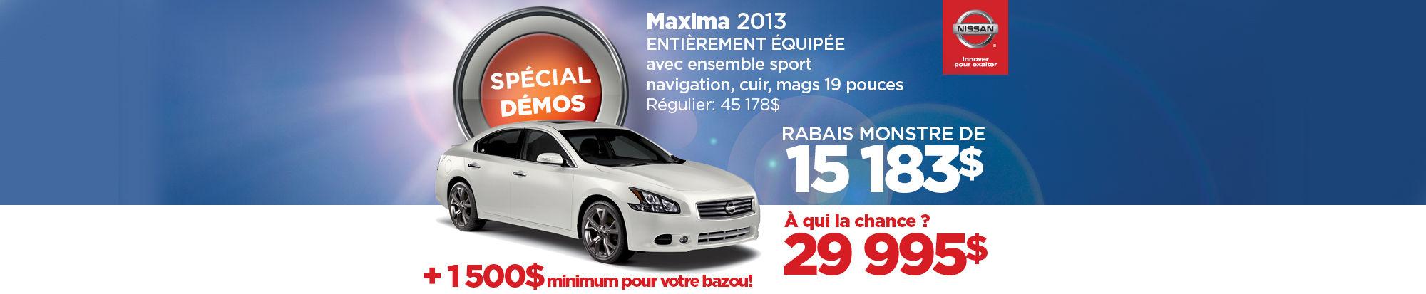 La Nissan Maxima