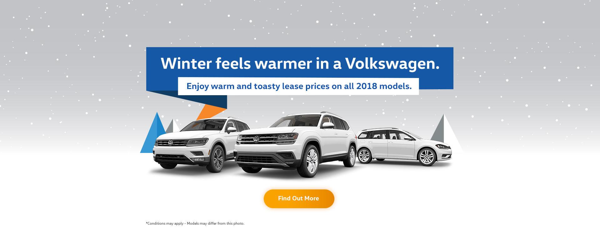 Winter feels warmer in a Volkswagen - November