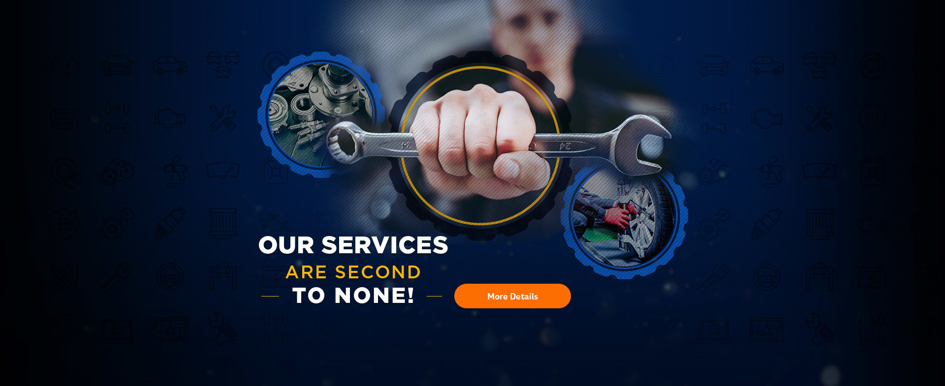 Our services are second to none!