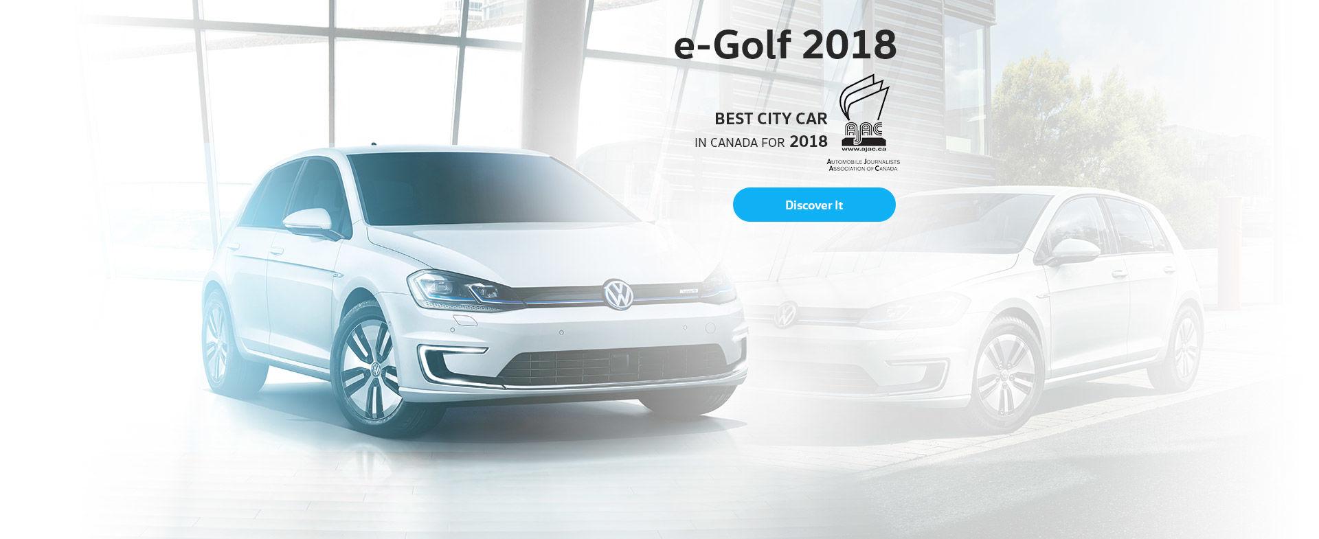 E-Golf 2018