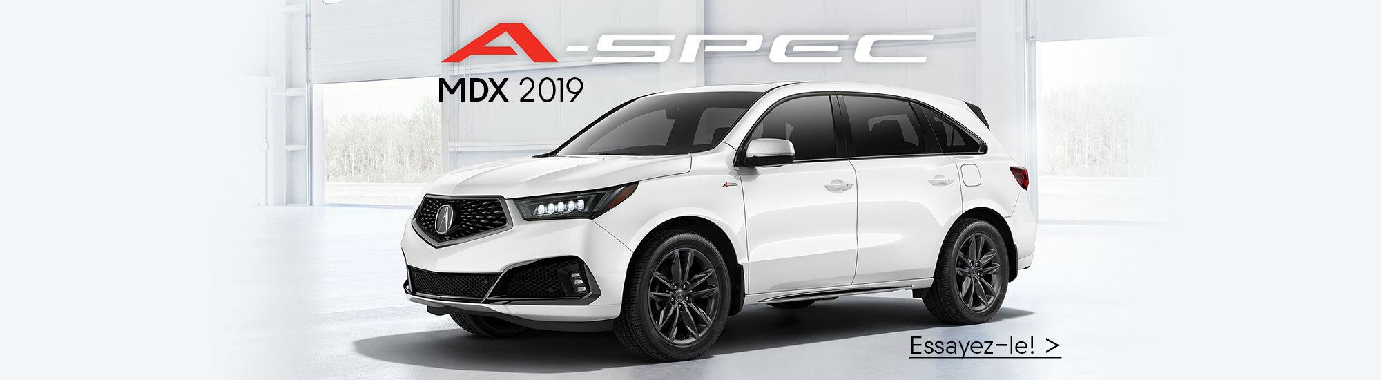 MDX 2019 A-Spec