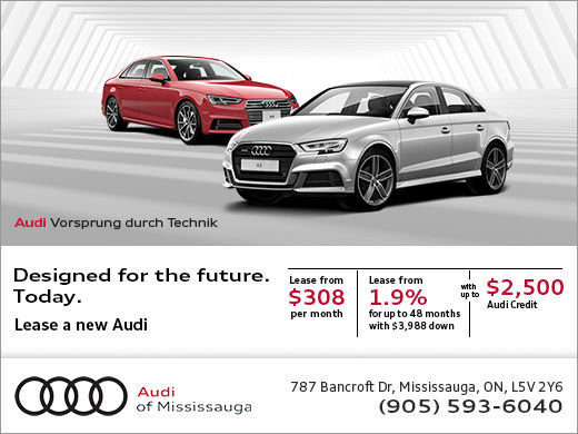 Audi S Monthly Sales Event Audi Of Mississauga
