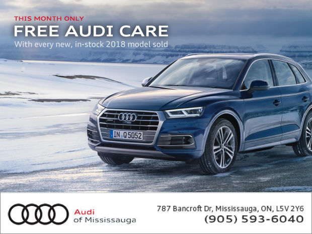 Special Auto Show Offer | Free Audi Care