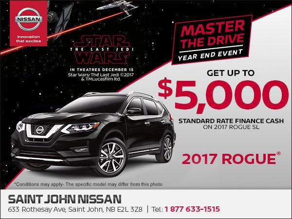 Saint John Nissan >> Save On The 2017 Nissan Rogue Today Saint John Nissan