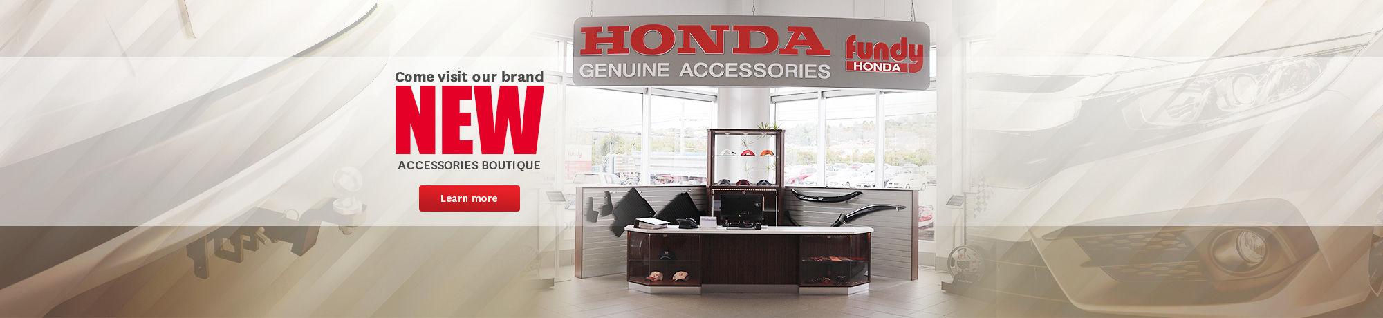 Boutique Fundy Honda