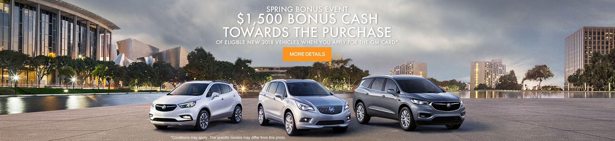 Buick Spring bonus event