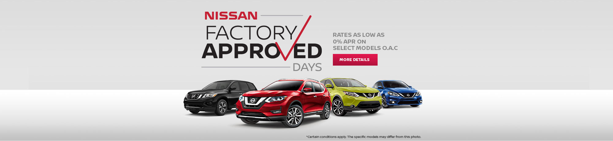 Nissan Factory Approved Days Event