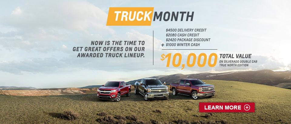 Truck Month Chevrolet