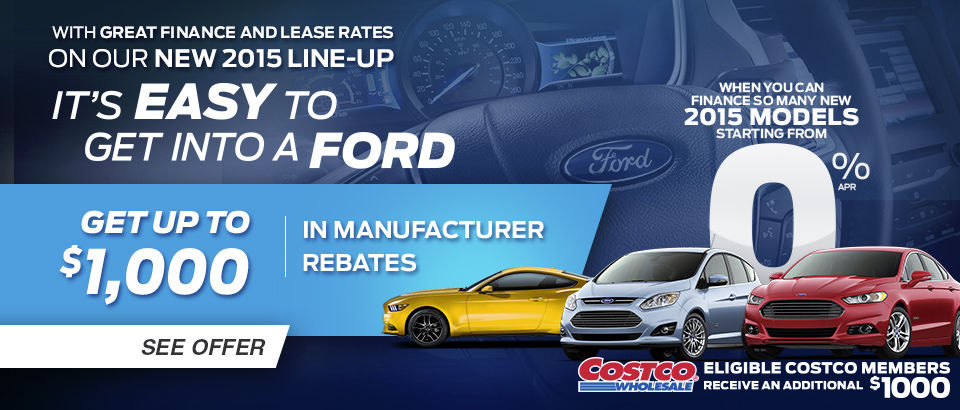 It's easy to get into a Ford Event
