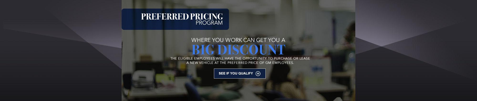Preferred Pricing Program gm