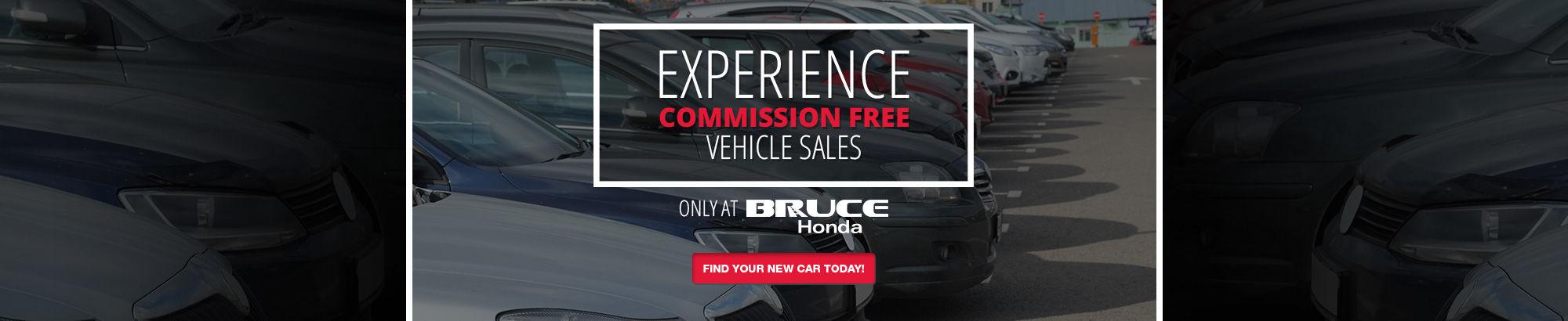 Commission Free-Honda