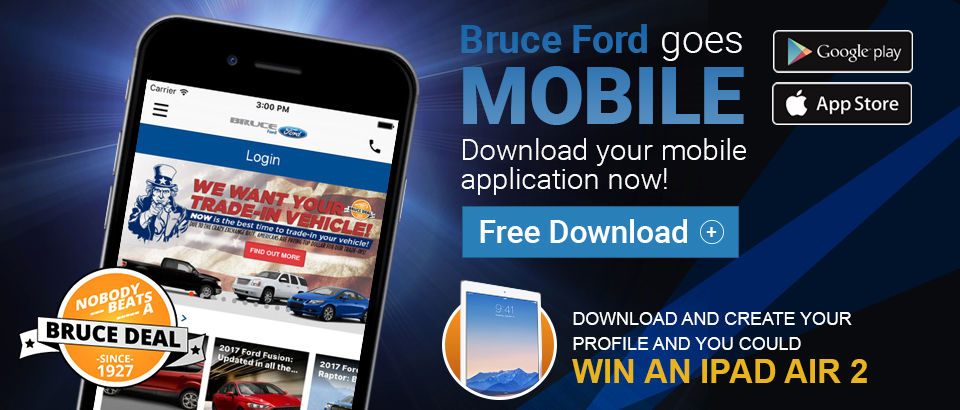 Bruce Ford Goes Mobile
