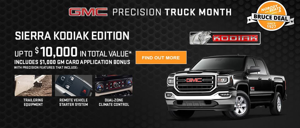 Precision Truck Month GMC May