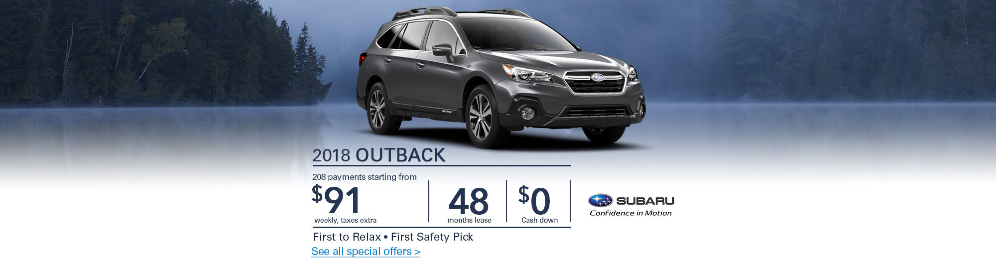 Subaru-First move-First safety Pick